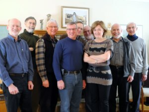 at the RGBC with Clark, Alex, Keith, John, Ray, Wilbur, Dave and Adrian.